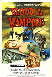Blood of the Vampire Poster