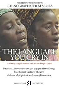 The Language You Cry In (1998)
