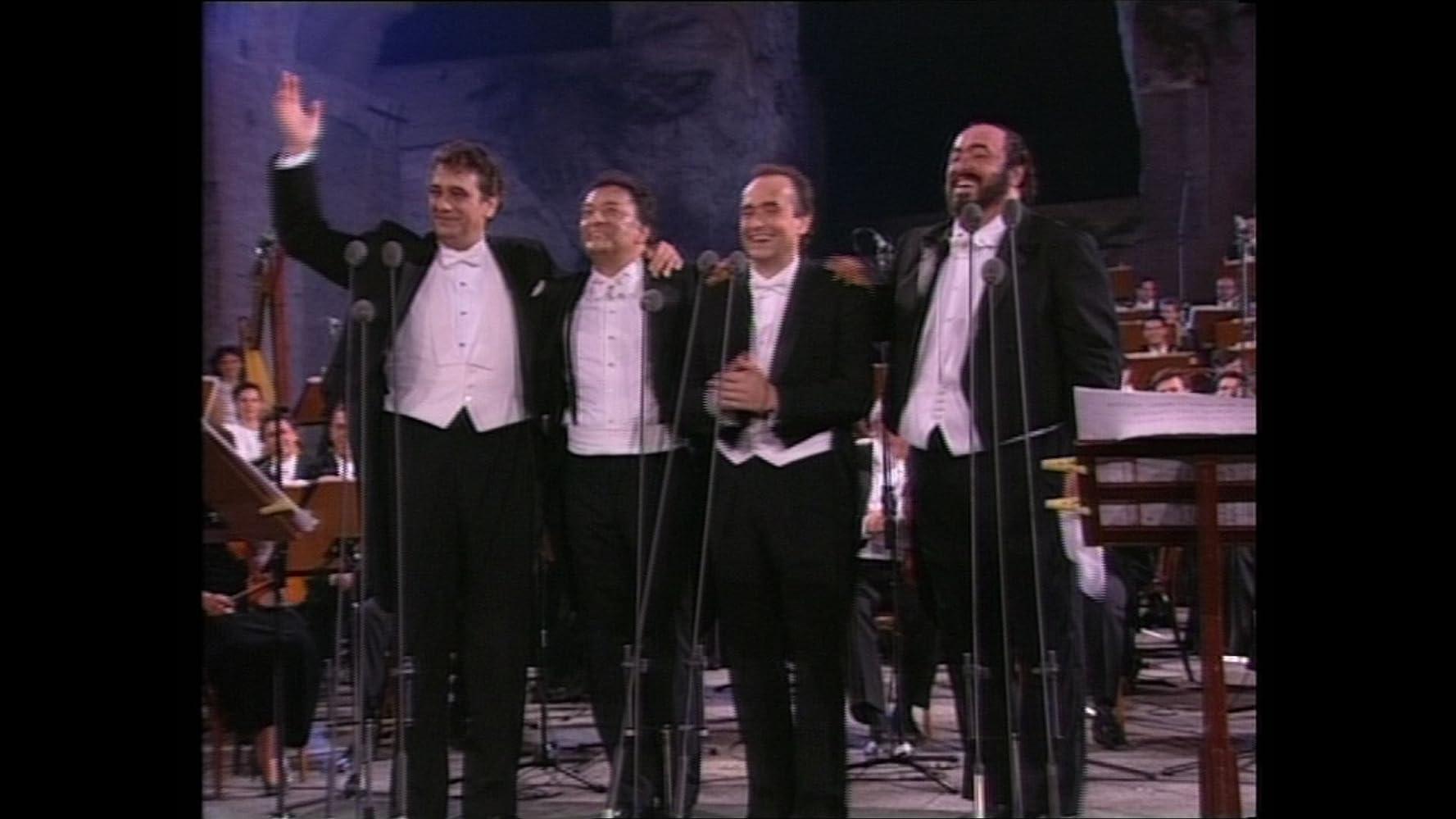 Plácido Domingo, Josep Carreras, Zubin Mehta, and Luciano Pavarotti in Pavarotti (2019)