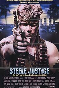 Martin Kove in Steele Justice (1987)