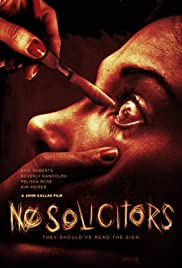 No Solicitors Poster