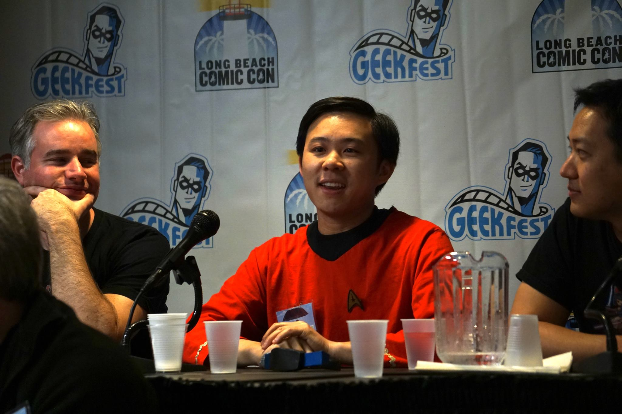 Joshua Hoh at an event for Star Trek Wars (2015)