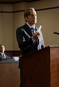 Bob Odenkirk and Rhea Seehorn in Better Call Saul (2015)