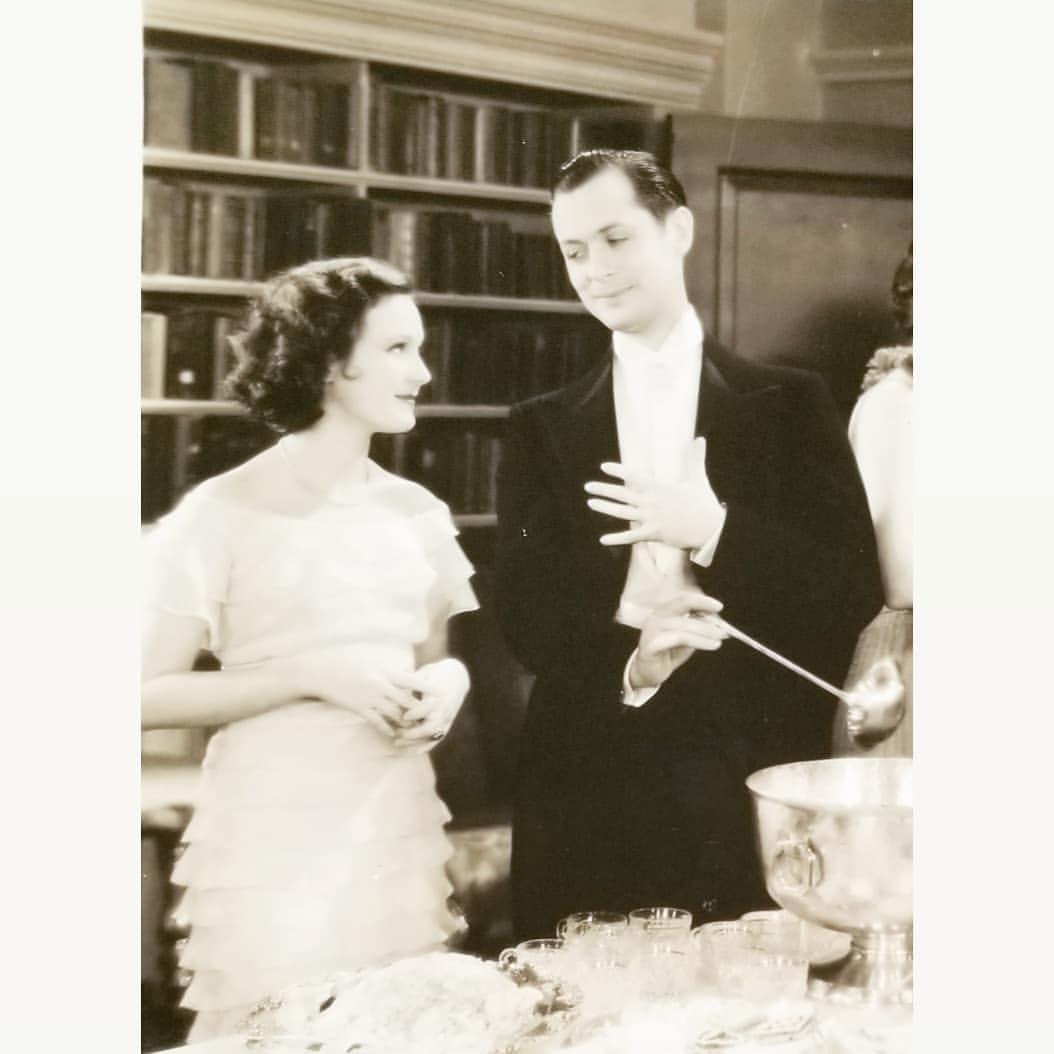 Dorothy Jordan and Robert Montgomery in Shipmates (1931)