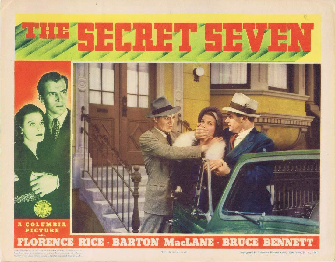Bruce Bennett, Joe Downing, George Magrill, and Florence Rice in The Secret Seven (1940)