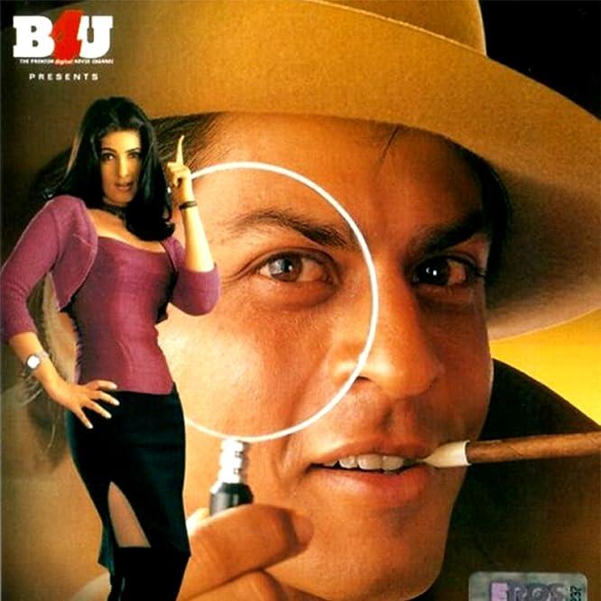 Twinkle Khanna and Shah Rukh Khan in Baadshah (1999)