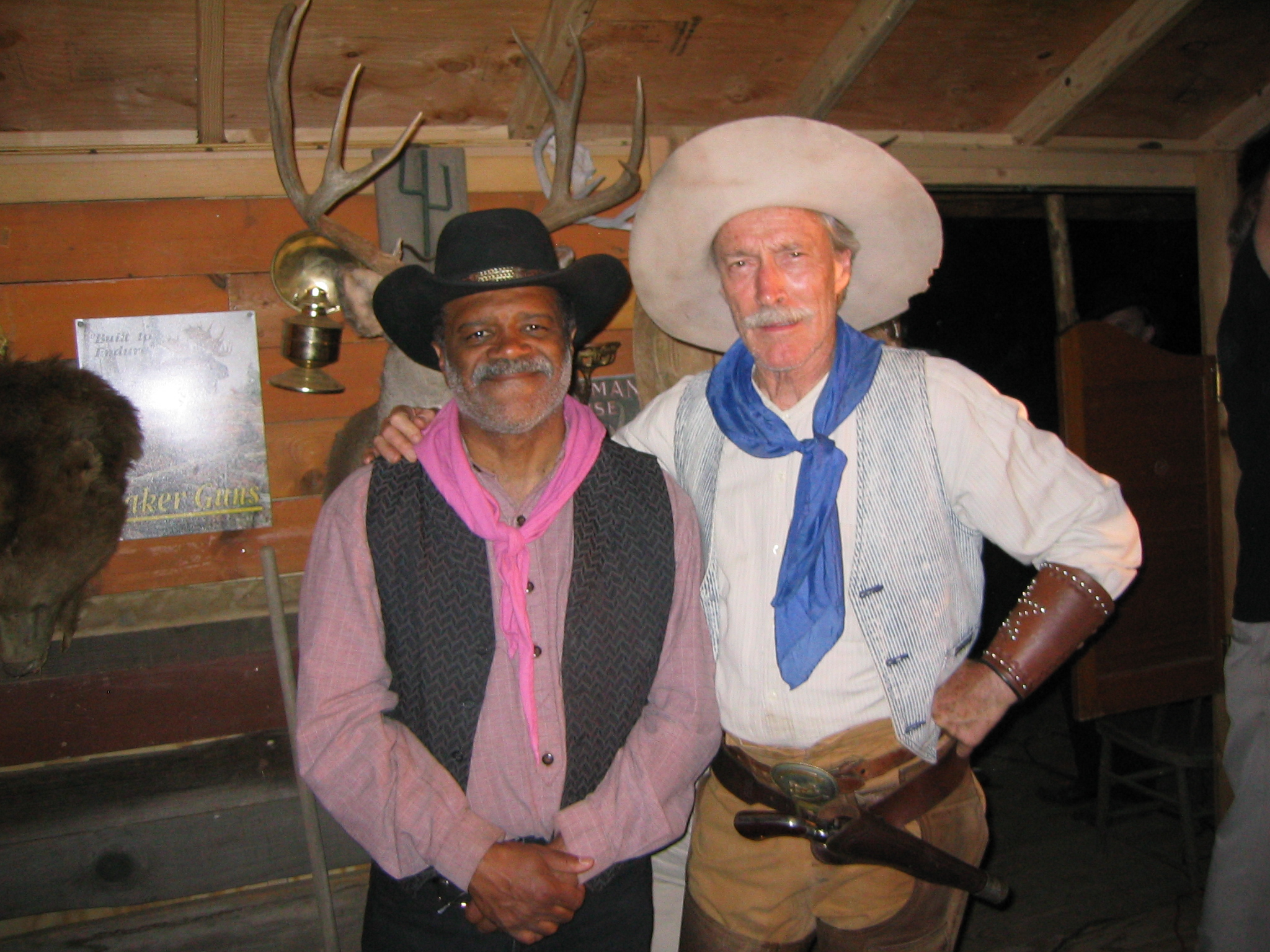 Patrick Gorman and Ted Lange in Players at the Poker Palace (2008)