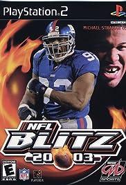 NFL Blitz 2003 Poster