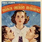 Herbert Marshall, Fredric March, and Merle Oberon in The Dark Angel (1935)