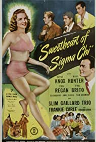 Phil Brito, Fred Coby, Ann Gillis, Ross Hunter, Elyse Knox, and Phil Regan in Sweetheart of Sigma Chi (1946)