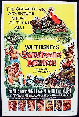 Movie Swiss Family Robinson (1960)