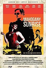 Mahogany Sunrise Poster