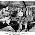 Dirk Bogarde, Michael Craig, James Robertson Justice, and Barbara Murray in Campbell's Kingdom (1957)
