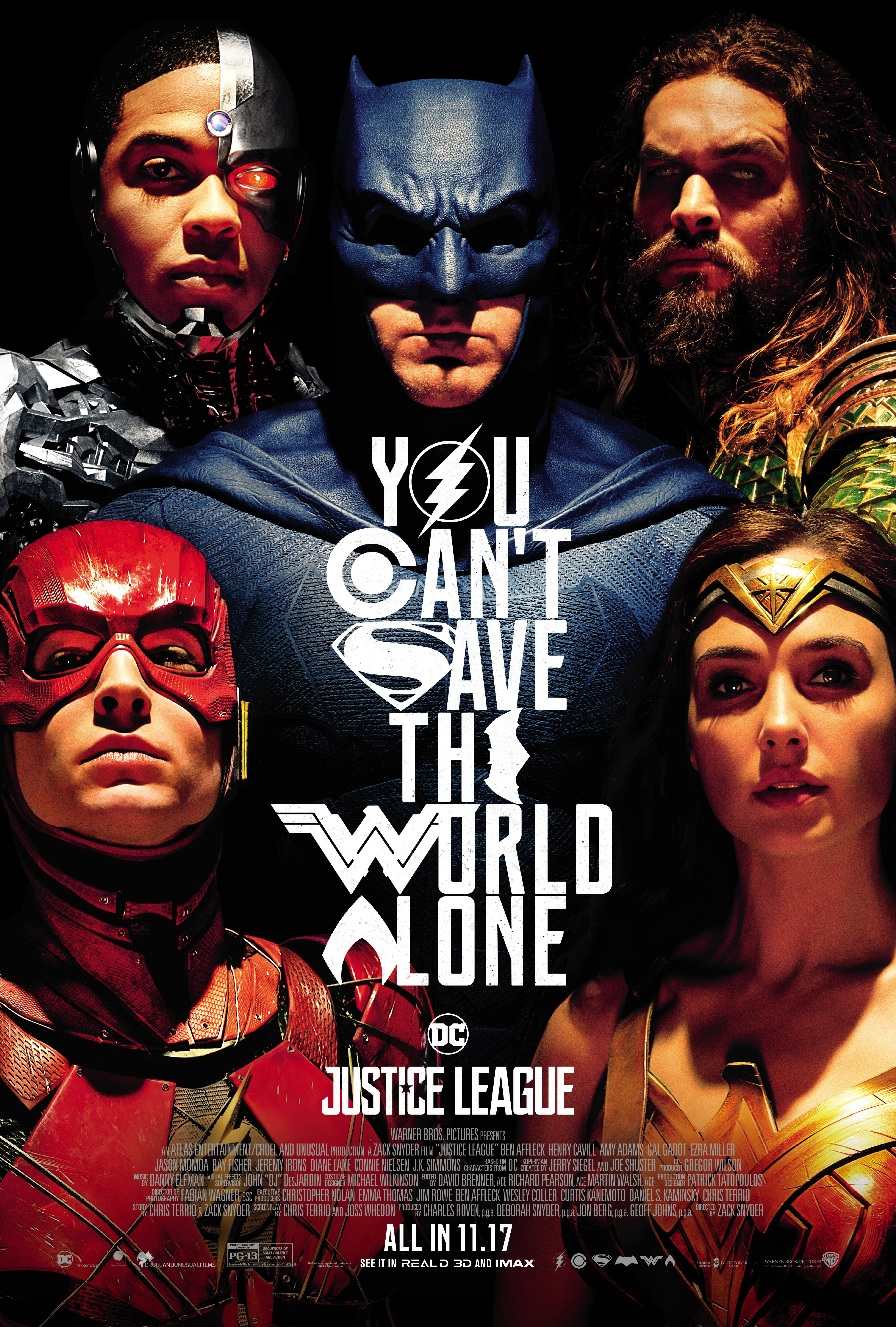 Justice League (2017) BluRay 480p, 720p & 1080p