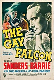 George Sanders, Wendy Barrie, and Arthur Shields in The Gay Falcon (1941)