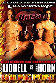 UFC 54: Boiling Point Poster