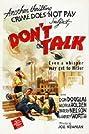 Don't Talk (1942) Poster