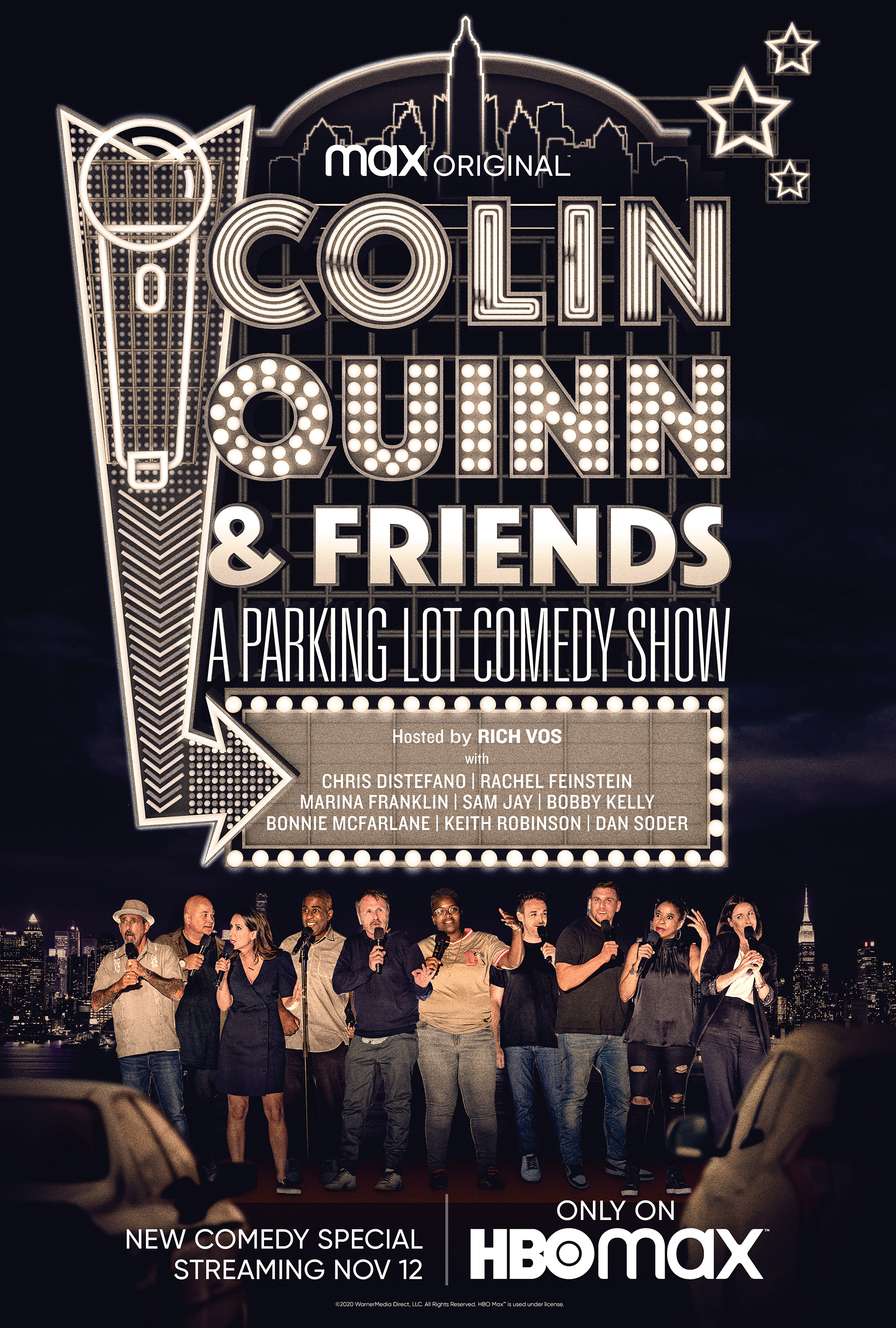 watch Colin Quinn & Friends: A Parking Lot Comedy Show on soap2day