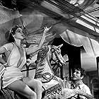 Daniel Gélin and Simone Simon in Le plaisir (1952)