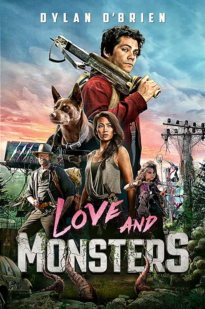 Love and Monsters (2020) English 720p HEVC HDRip  x265 AAC ESubs [600MB] Full Movie Download