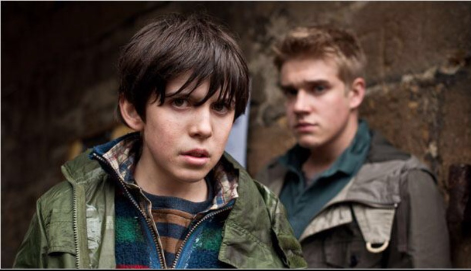 Bobby Lockwood and Nathan Williams in Wolfblood (2012)