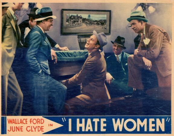Wallace Ford and Fuzzy Knight in I Hate Women (1934)