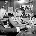 Giorgos Moutsios and Louiza Xintaraki in I zoi mou arhizei me sena (1961)