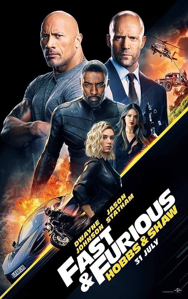 Fast & Furious Presents: Hobbs & Shaw (3D)