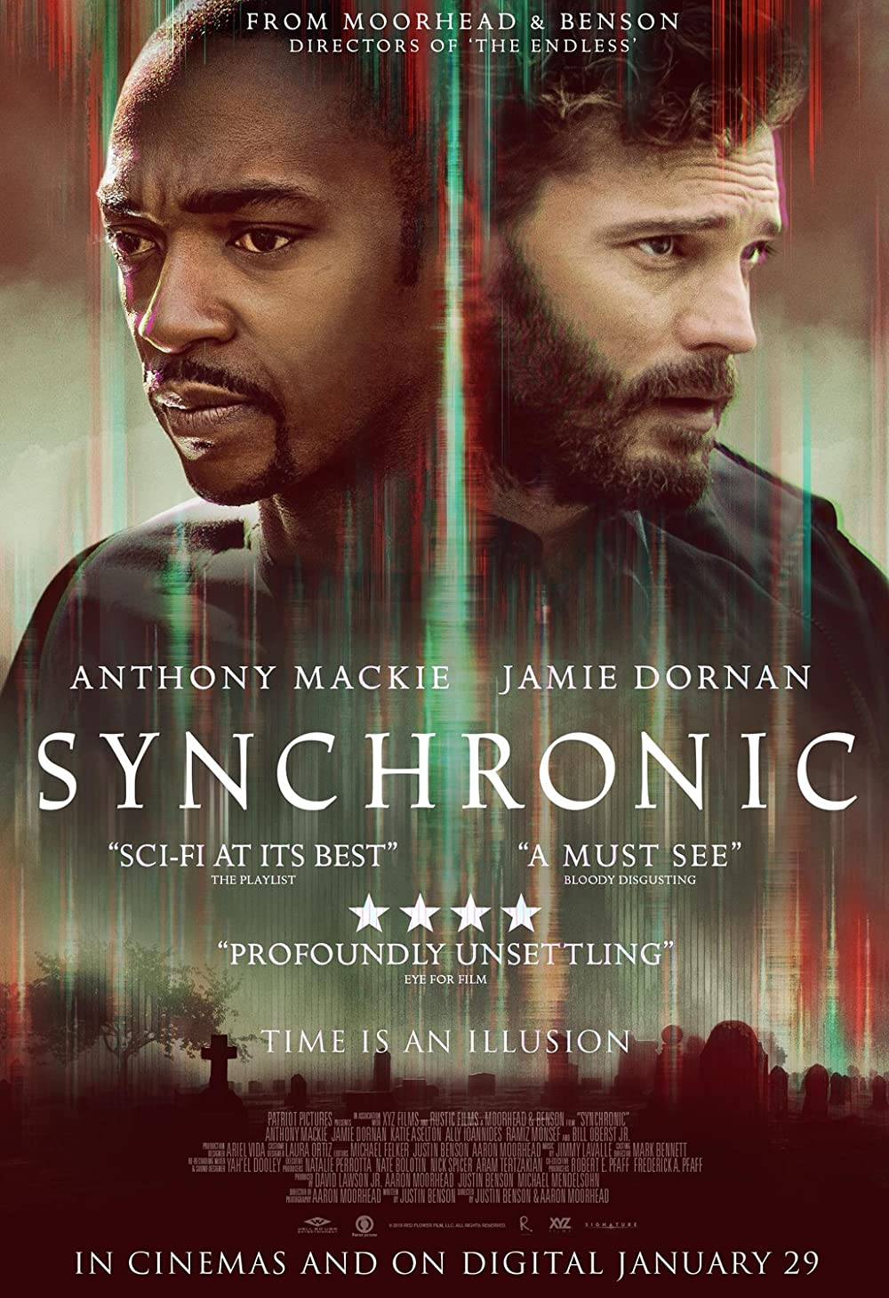 Synchronic 2020 English 720p HDRip 800MB | 305MB Download