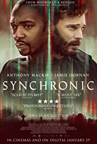 Anthony Mackie and Jamie Dornan in Synchronic (2019)