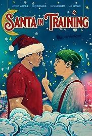 Santa in Training Poster