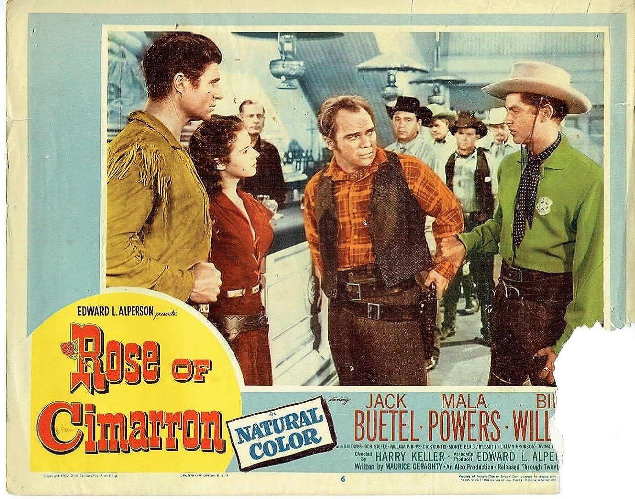 Rose of Cimarron (1952)