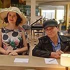Alex Borstein and Rachel Brosnahan in The Marvelous Mrs. Maisel (2017)