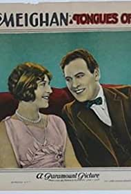 Bessie Love and Thomas Meighan in Tongues of Flame (1924)