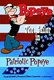Patriotic Popeye Poster