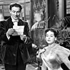 Paulette Goddard and Michael Wilding in An Ideal Husband (1947)