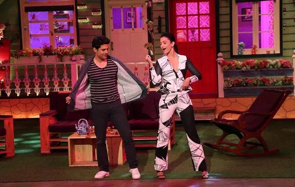 Team Fever on the Kapil Sharma Show (2016)