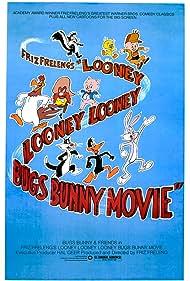 Mel Blanc, Robert J. Walsh, June Foray, Jim Champin, David Detiege, John W. Dunn, Stan Freberg, Friz Freleng, Ralph James, Don McGinnis, Frank Nelson, Frank Welker, and Bugs Bunny in Looney, Looney, Looney Bugs Bunny Movie (1981)