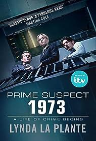 Sam Reid, Blake Harrison, and Stefanie Martini in Prime Suspect 1973 (2017)