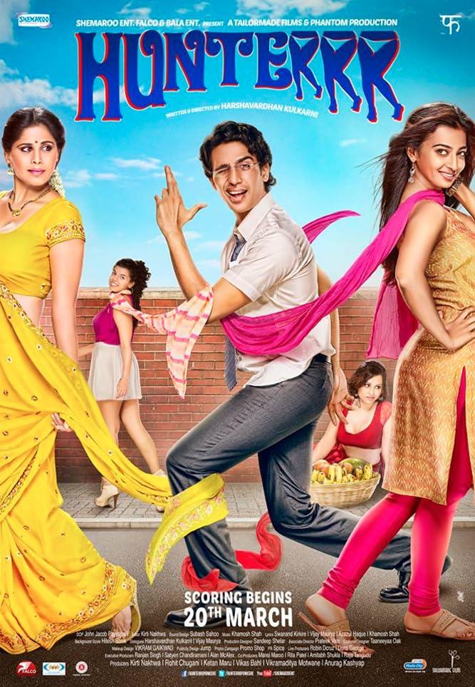 Hunterrr 2015 Hindi Movie HDRip 350MB Download