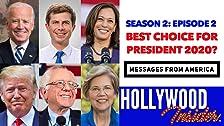 MENSAJES DE AMÉRICA 2: ¿Quién es el presidente 2020? Buttigieg? Harris? ¿Triunfo? Biden? Booker?