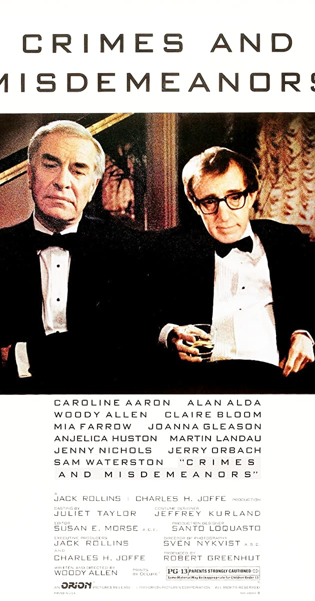 Watch Full HD Movie Crimes and Misdemeanors (1989)