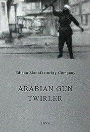 Arabian Gun Twirler Poster