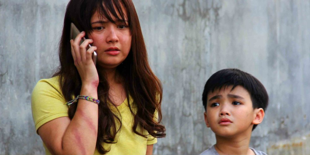 David Remo and Inah de Belen in Oh, My Mama! (2016)