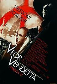 'V for Vendetta' Unmasked Poster