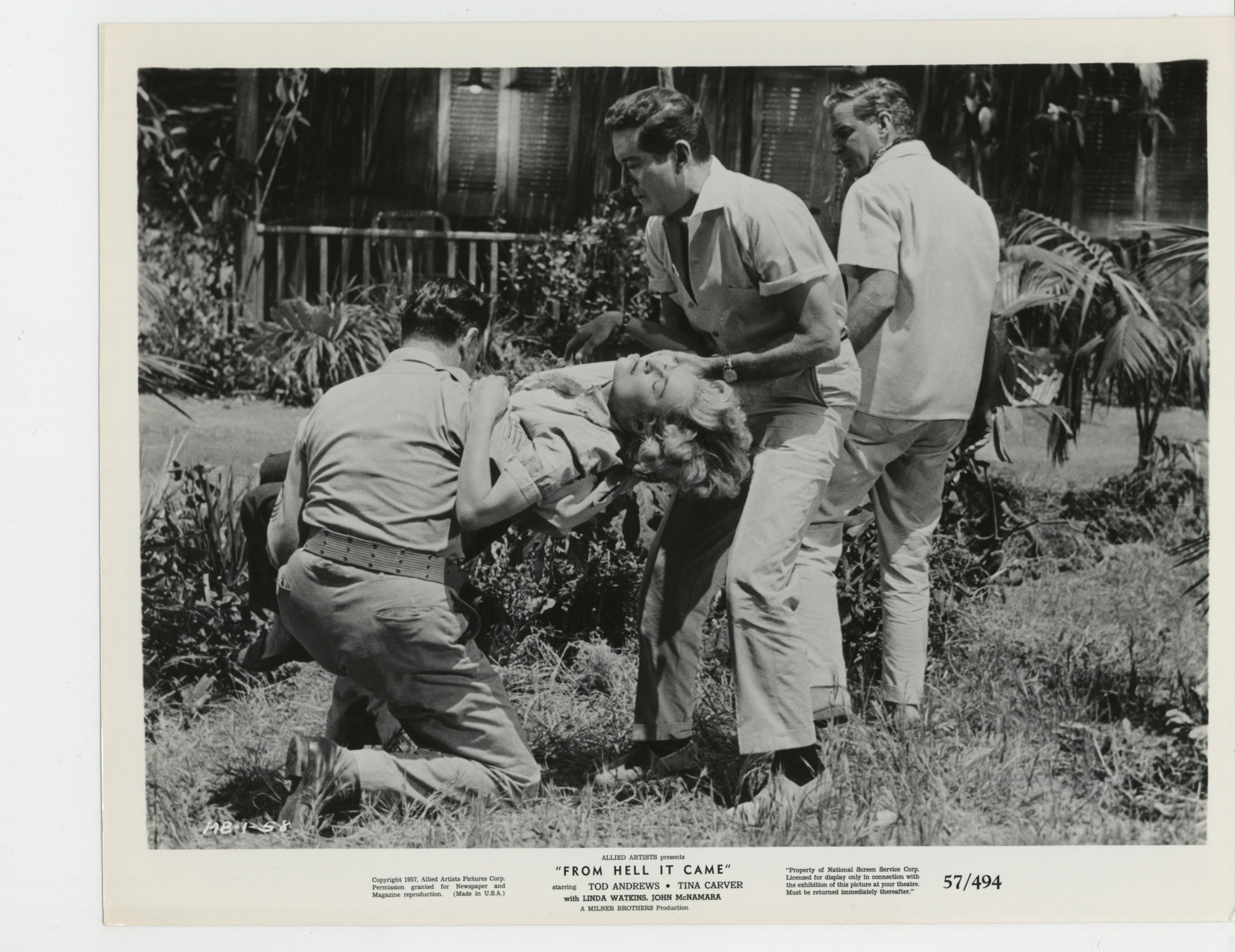 from hell it came 1957 movie