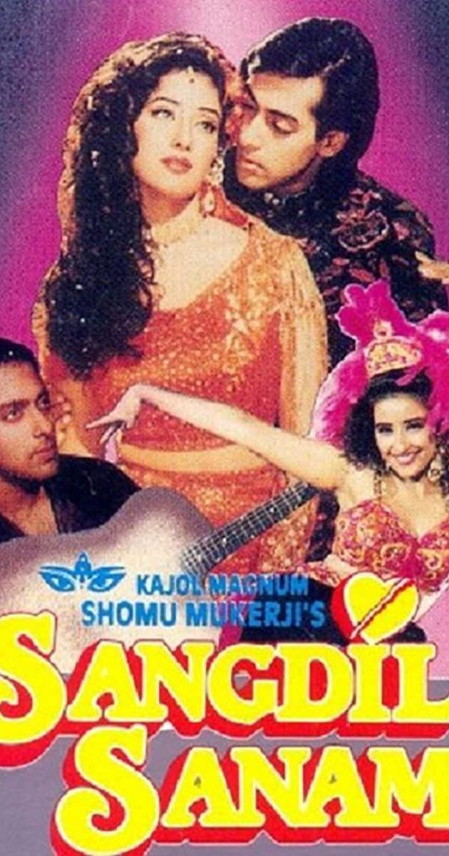 Sangdil Sanam (1994) Hindi 400MB HDRip 480p Download