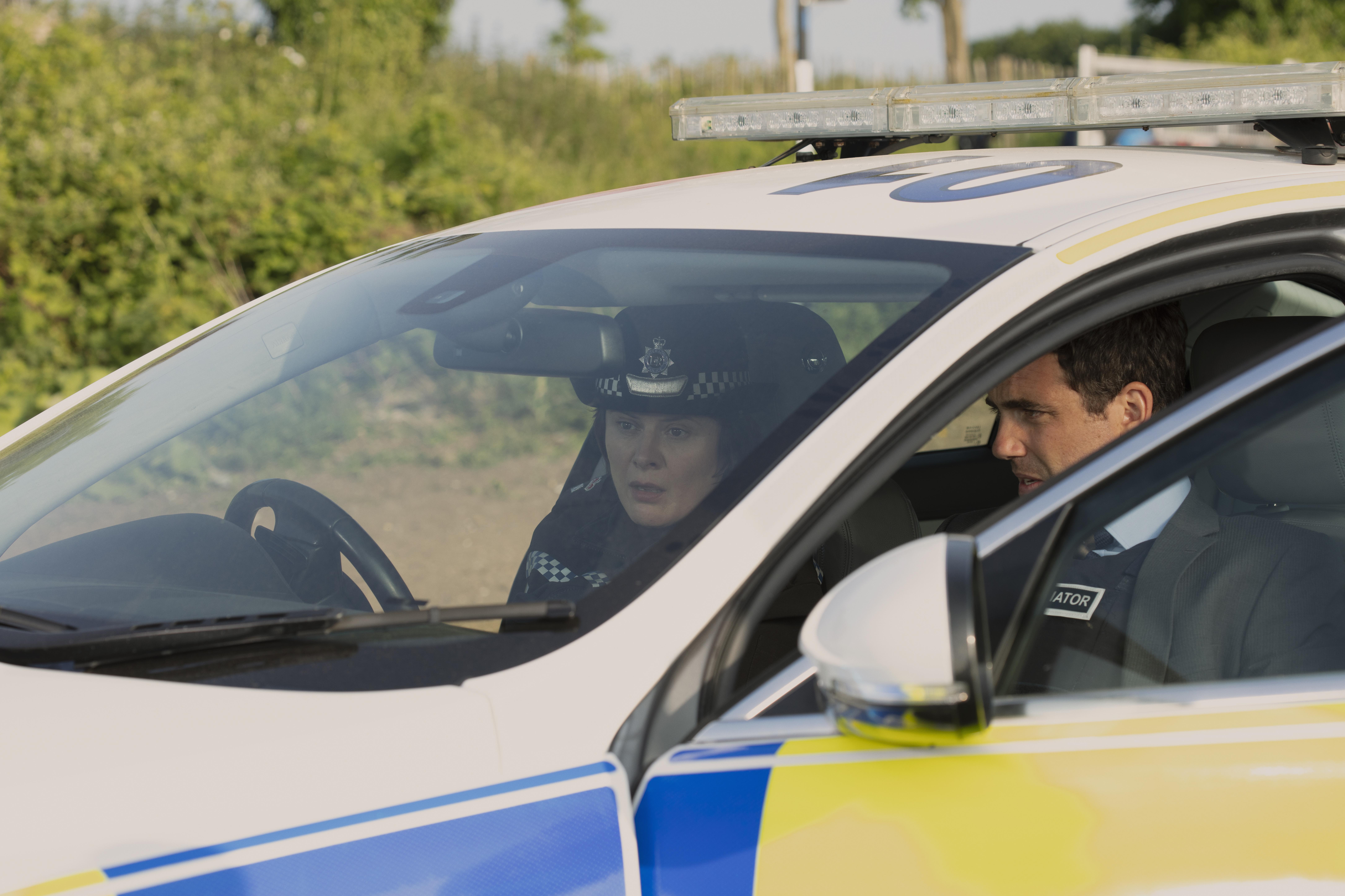 Monica Dolan and Daniel Ings in Black Mirror (2011)