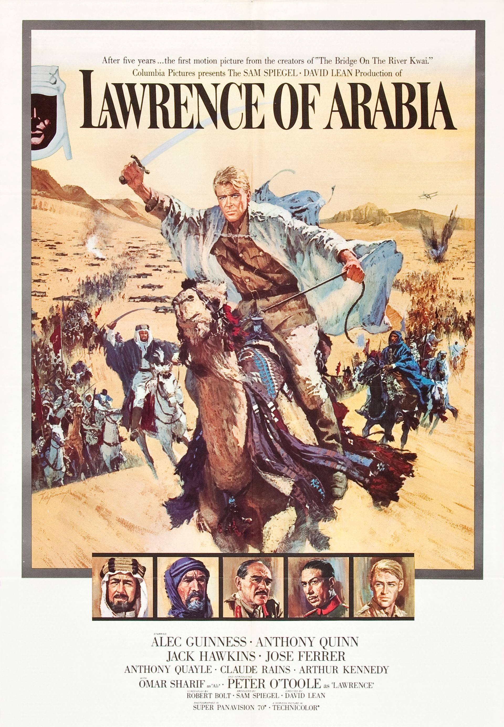 ARABIJOS LORENSAS (1962) / LAWRENCE OF ARABIA