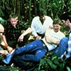 Robert Duvall, Gary Busey, Michael Schoeffling, Thomas F. Wilson, and Glenn Frey in Let's Get Harry (1986)